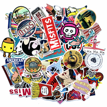 100pcs/lot Not repeating Western style cartoon Stickers for suitcase Laptop Wall waterproof PVC Car stylling decals gifts цена в Москве и Питере