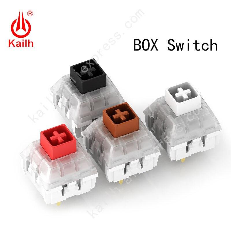 Kailh Mechanical Keyboard Field Change Diy Mechanical Keyboard Change Rgb/smd Black Pink Brown White Change