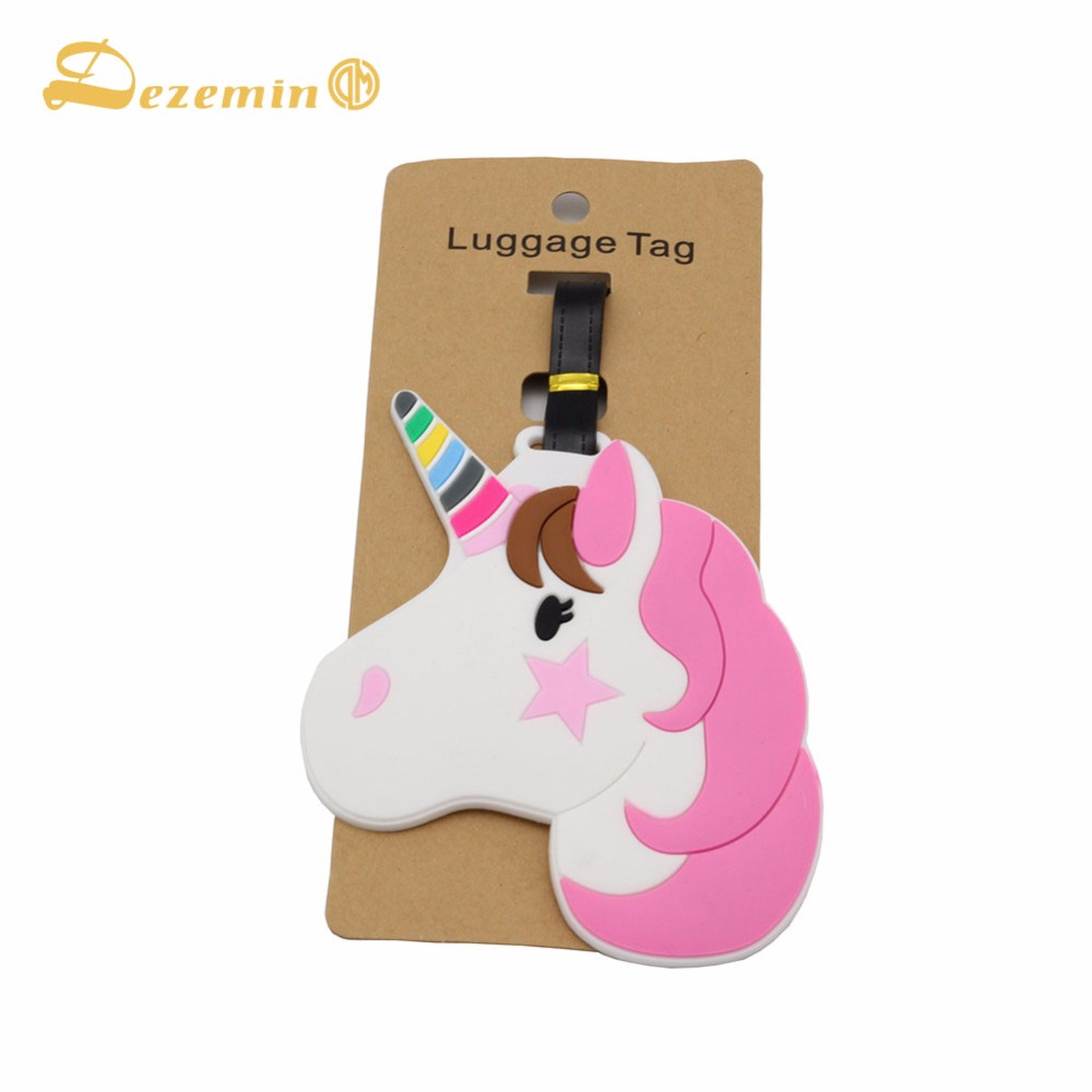 DEZEMIN Luggage Name Tag Suitcase Indentifier Bag Label For Travel Trip