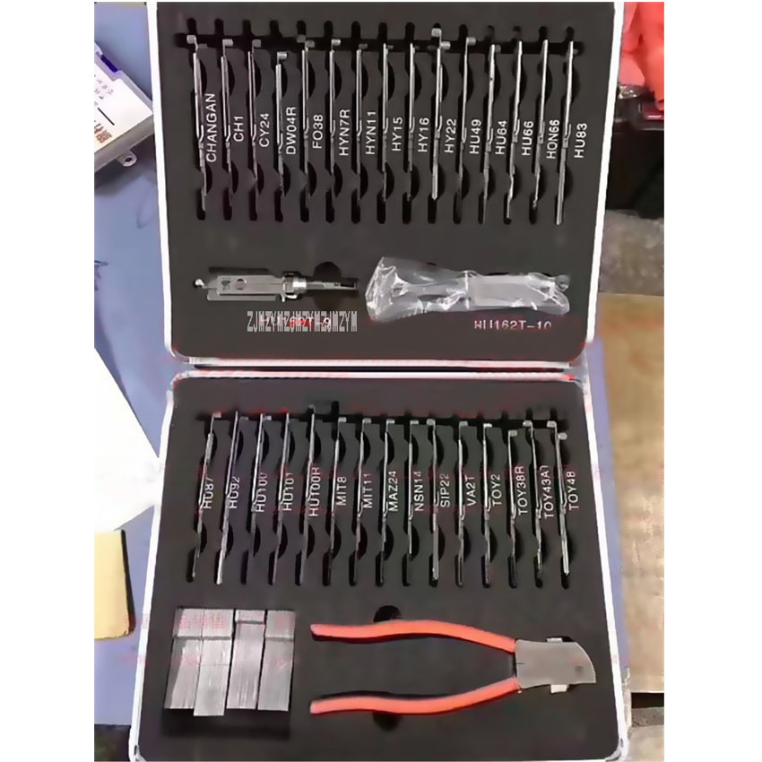 New Arrival High Quality Multi-purpose Hosehold Lee's Two-in-one 32-piece Tools Toolbox Hot Selling