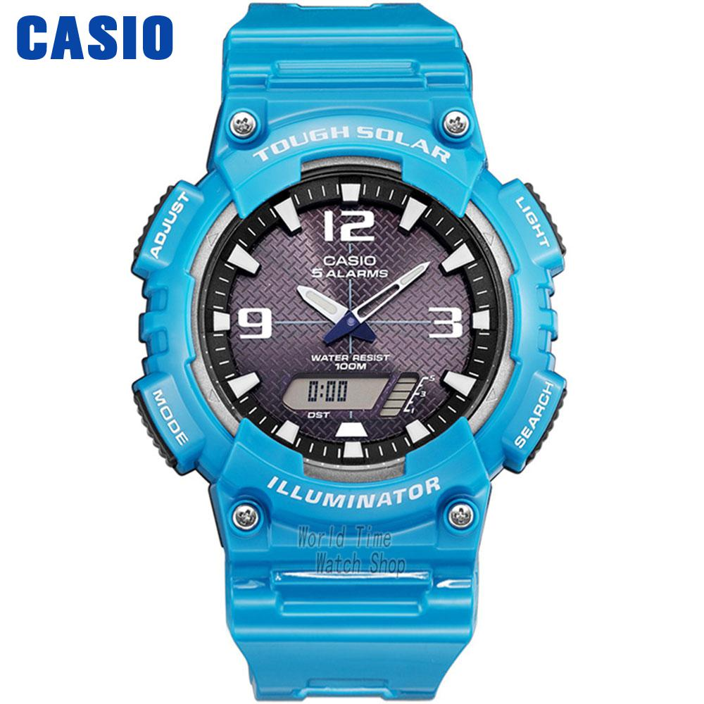 цена Casio watch Solar Multifunctional Men's Watches AQ-S810WC-3A AQ-S810WC-4A AQ-S810WC-7A AQ-S800WD-1E AQ-S800WD-7E онлайн в 2017 году