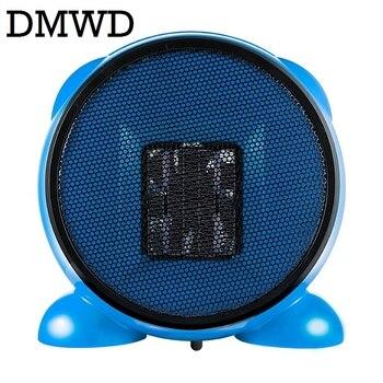 DMWD электрические обогреватели портативный мини Персональный керамический нагреватель теплый воздух воздуходувка зимняя теплая радиатор ...