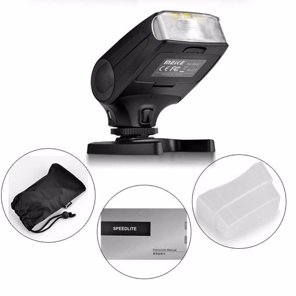 MEKE Meike MK320 TTL флэш адаптері Nikon J1 J2 J3 D7100 - Камера және фотосурет - фото 5