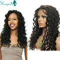 Glueless Full Lace Human Hair Wigs Virgin Brazilian Full Lace Wigs Loose Curly Wave Lace Front Wig For Black Women Free Shipping
