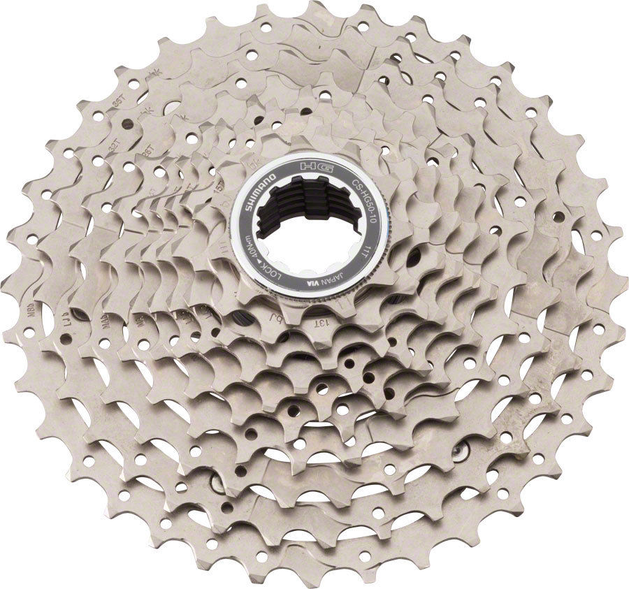 SHIMANO DEORE HG50 Mountain Bike MTB 10 Speed CASSETTE SPROCKET Flywheel 11-36t