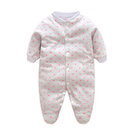 Brand Baby Rompers Newborn Winter Body Bebe Baby Boy Panda Cartoon Clothing Baby Girl Overall for Infants Recem Nascido Clothes