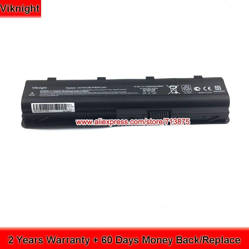 Haute Qualité CQ42 HSTNN-LB0W Batterie D'ordinateur Portable Pour HP MU06 CQ56 CQ62 HSTNN-DBOW G6 G7 G42 G56 10.8 v 4400 mah