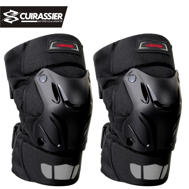 Motorcykel Knäskydd Guards Cuirassier Elbow Racing Off-Road Skyddande Knäskydd Motocross Brace Protector Motorbike Protection