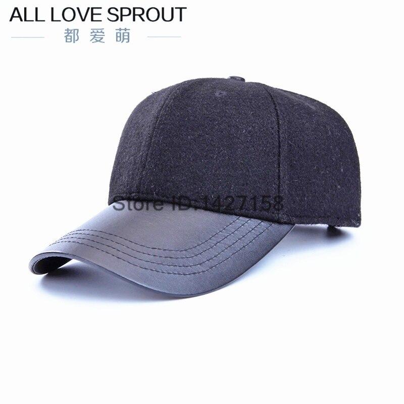 ∞2018 nueva primavera de lana ligera gorra de béisbol ala del ...