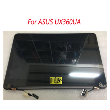 """13.3"""" LCD Touch Screen Assembly + Hinges for Asus Zenbook UX360U UX360UA grey black champagne color"""