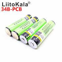 2019 Original LiitoKala protégé 100% Original NCR18650B 18650 3400mah batterie Rechargeable avec 3.7V PCB pour