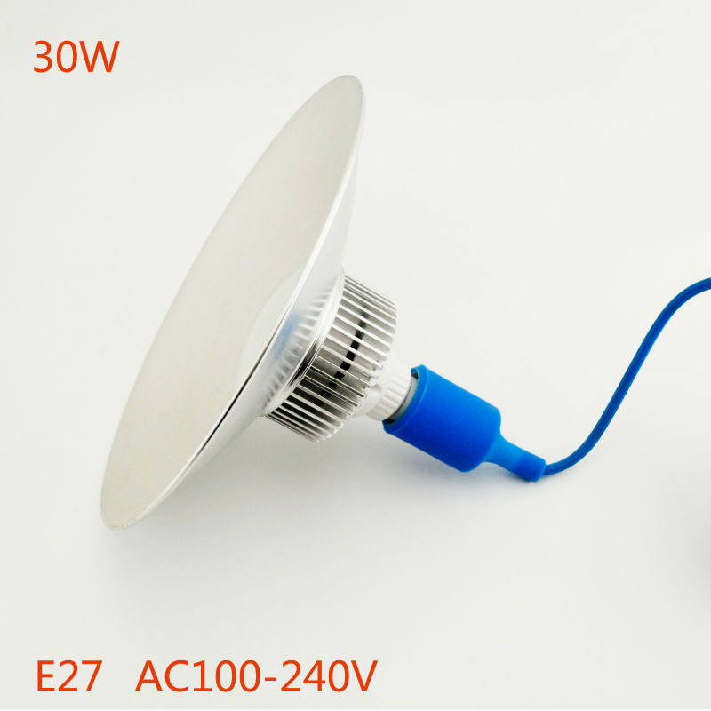 LED Industrial Lighting High Bay Light30W E27 Factory Floor Lighting warehouse Lamp free shipping Warm White/ Whit
