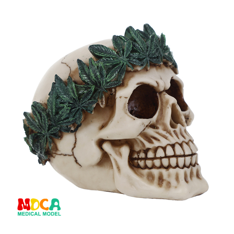 Resin skull Halloween gifts personal ornaments home accessories GXGT040Resin skull Halloween gifts personal ornaments home accessories GXGT040