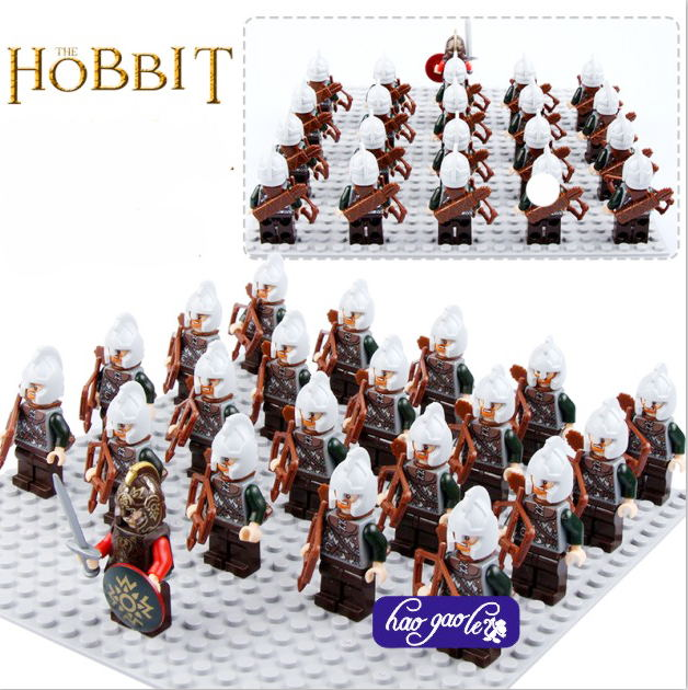21pcs Pg503 Rohan Archer Figures Building Blocks Children Toy Lord Of The Rings 9471 The Battle Of Helms Deep 2017 Toys Waterproof Shock-Resistant And Antimagnetic Model Building
