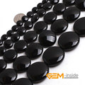 Coin Shape Black Agate Beads Natural Stone Beads DIY Loose Beads For Jewelry Making Bead Strand 15 Inches Wholesale !