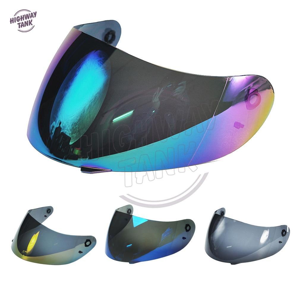 4 krāsas Blule / Gold / Iridium / Smoke motociklu ķiveres - Motociklu piederumi un daļas