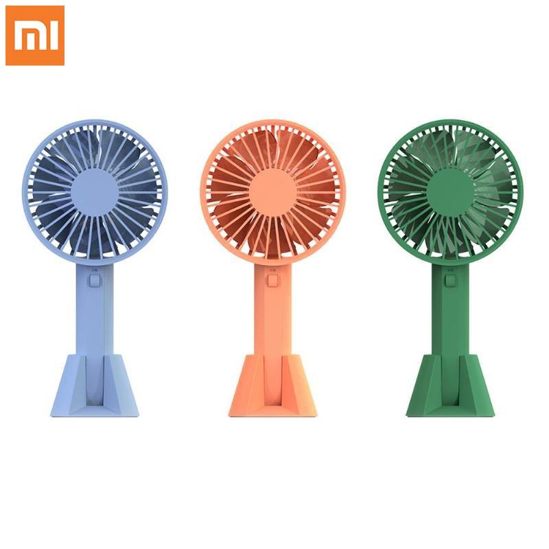 Original Xiaomi VH Mini Fan USB Cooling Fan Handheld Mijia Summer Cooler Rechargeable Handy Air Cooling Fan for Home Outdoor new mini cooling rechargeable fan