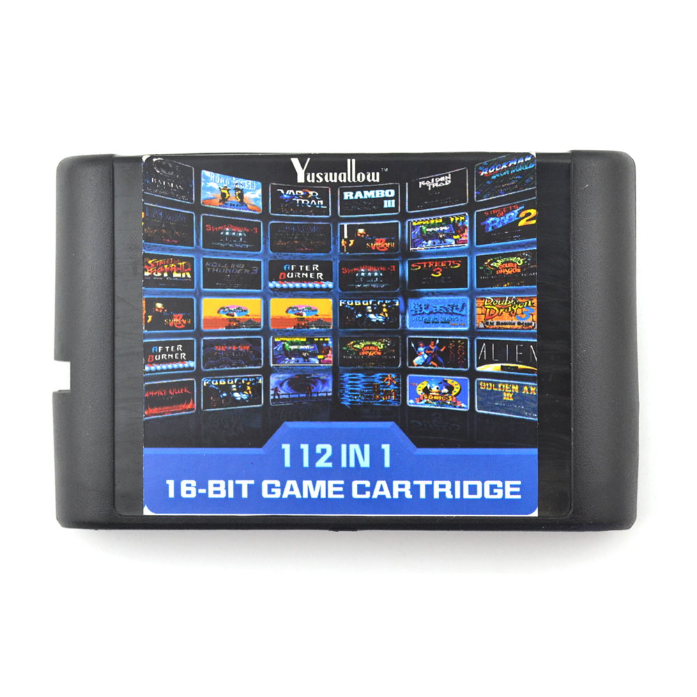 22/36/112 in 1 Game Cartridge 16 bit Game Card For Sega Mega Drive For Sega Genesis game cartridge fire shark for 16 bit sega megadrive genesis game console
