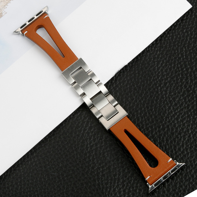 Leather loop band for Apple Watch Bands