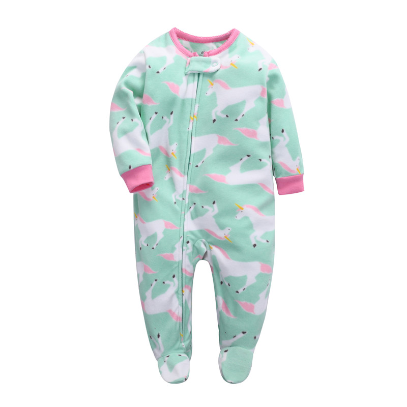 Baby clothing ! 2018 baby girl clothes Newborn clothes fleece   romper   long-sleeve baby product , infant boy clothes babies