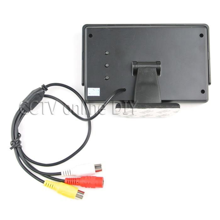ANSHILONG 2in1 TFT LCD 2 Entrada de video Monitor de estacionamiento - Electrónica del Automóvil - foto 4