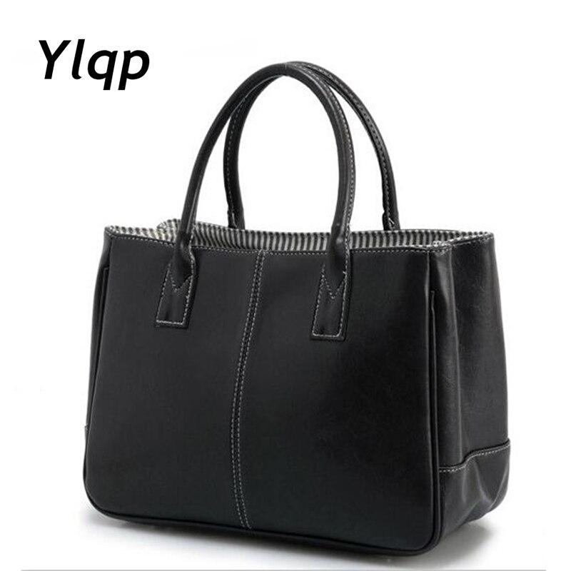 Nye casual håndtasker kvinder læder taske 10 farver kvindelige - Håndtasker - Foto 1