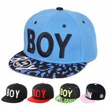 Boy Letter Baby Boy girls Hats Cool Style Baseball Cap Children Boy For Spring autumn Hip-pop Sun Hat For Travel School