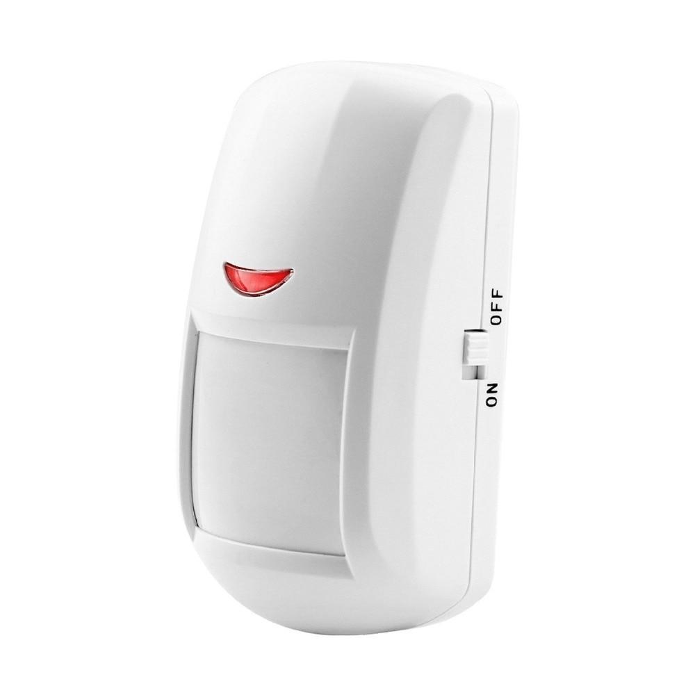 433MHz Wireless Intelligent PIR Motion Sensor Detector For GSM PSTN Home Security Alarm System Wide-angel Security Alarm free shipping wireless pir detector for home alarm home security system 433mhz motion sensor
