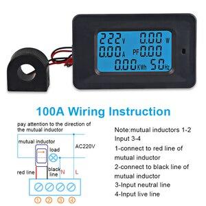 Image 3 - AC22KW 110~250V 100A Digital Voltage Power Energy Voltmeter Ammeter Meters Indicator Current Amps Volt Wattmeter Tester Detector