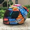 2016 Анфас Мотокроссу Шлем Дышащий Высокое Поглощение Запаха Устойчивы гонки DOT ЕЭК утверждено