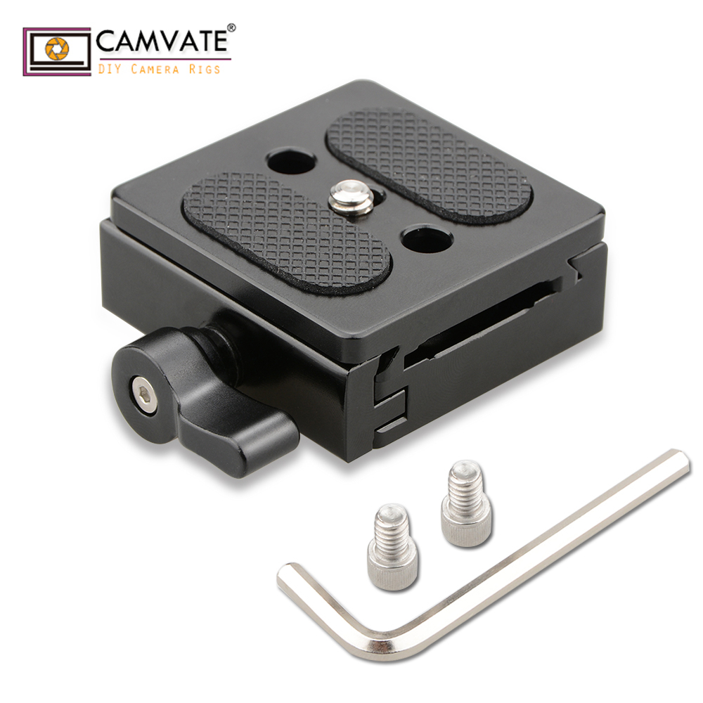 CAMVATE ARCA Style Quick Release Plate QR Clamp (50mm) C1794 camera photography accessories