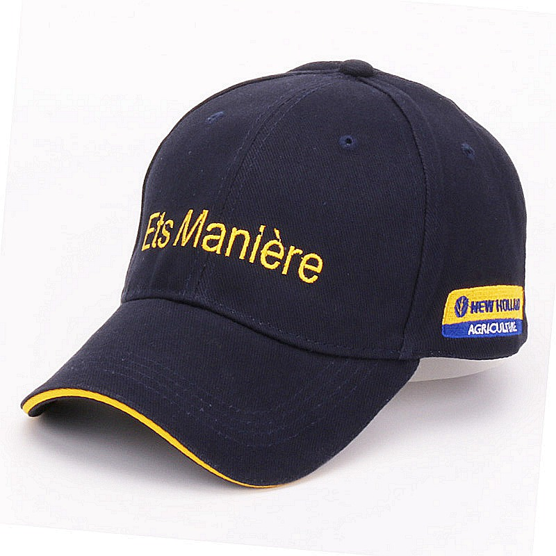 0e192fd3fdf Details about Casual Promotion Navy cotton baseball caps for mens outdoor  sports