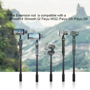 Image 2 - Pergear Palo de extensión especial para estabilizador, Compatible con Zhiyun Smooth 4 / Smooth Q Feiyutech G6 WG2 G5 DJI Osmo Mobile 2