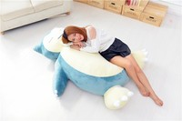 huge Movies & TV plush Snorlax toy big stuffed kabi doll gift about 150cm