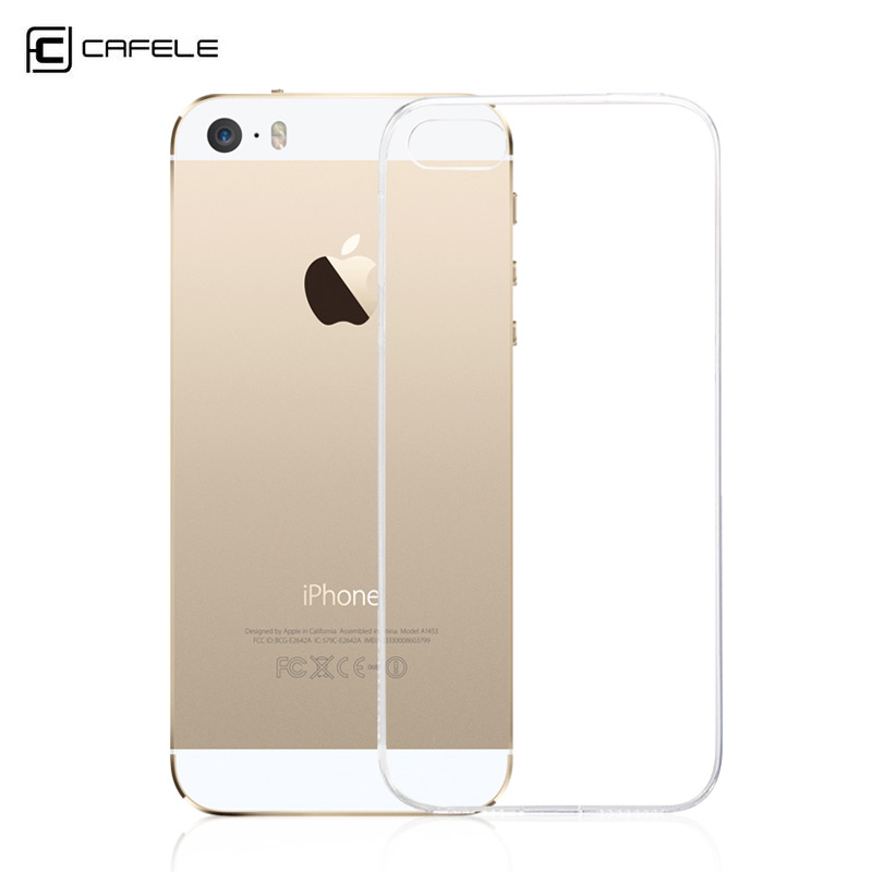 Ultra Thin Soft Silicon Fashion Transparent Back For iPhone 5s case for iphone 5s phone cases Cover For iPhone 5 case