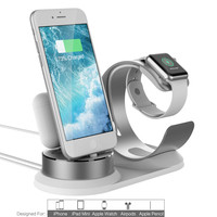 phone holder stand finger ring holder 4 in1 Charging Dock Station Holder Stand For Apple Watch For AirPod For iPhone z7