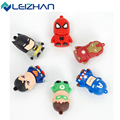 Clássico Heróis Superman Spiderman Batman USB Flash Drive 4 GB 8 GB 16 GB 32 GB pen drive memory stick cartão de memória flash