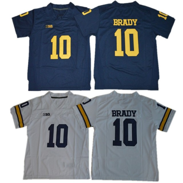 tom brady college football jersey