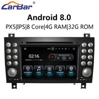 7 Android Car DVD GPS Navigation Radio Audio Stereo Player for Mercedes Benz SLK SLK200 SLK280 SLK350 SLK55 2004 2012