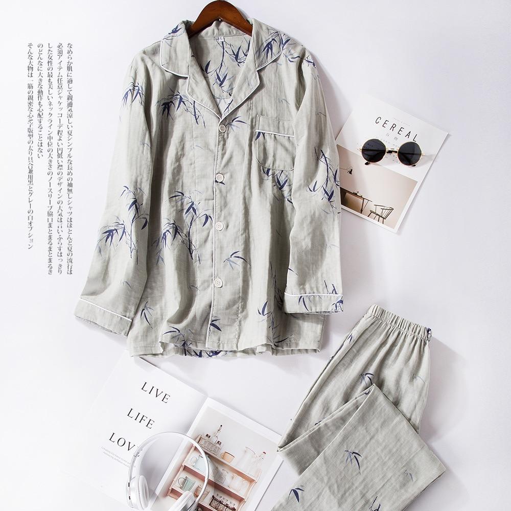 d20d36415c Women s Pajama Sets Japanese Print Yukata Underwear Kimono Robe Gown Cotton  Suits Nightgown Sleepwear Bathrobe Leisure Homewear-in Pajama Sets from ...