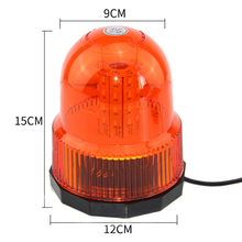 8W 5730 40 LED Emergency Vehicle Flash Stobe Rotating Beacon Warning Light Traffic Light Roadway Safety Alarm Lamp Orange Color