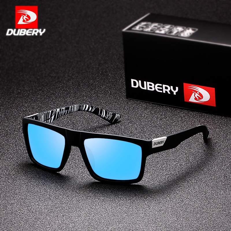 DUBERY Mens Sport Polarized Sunglasses Outdoor Riding Driving Coating Glasses