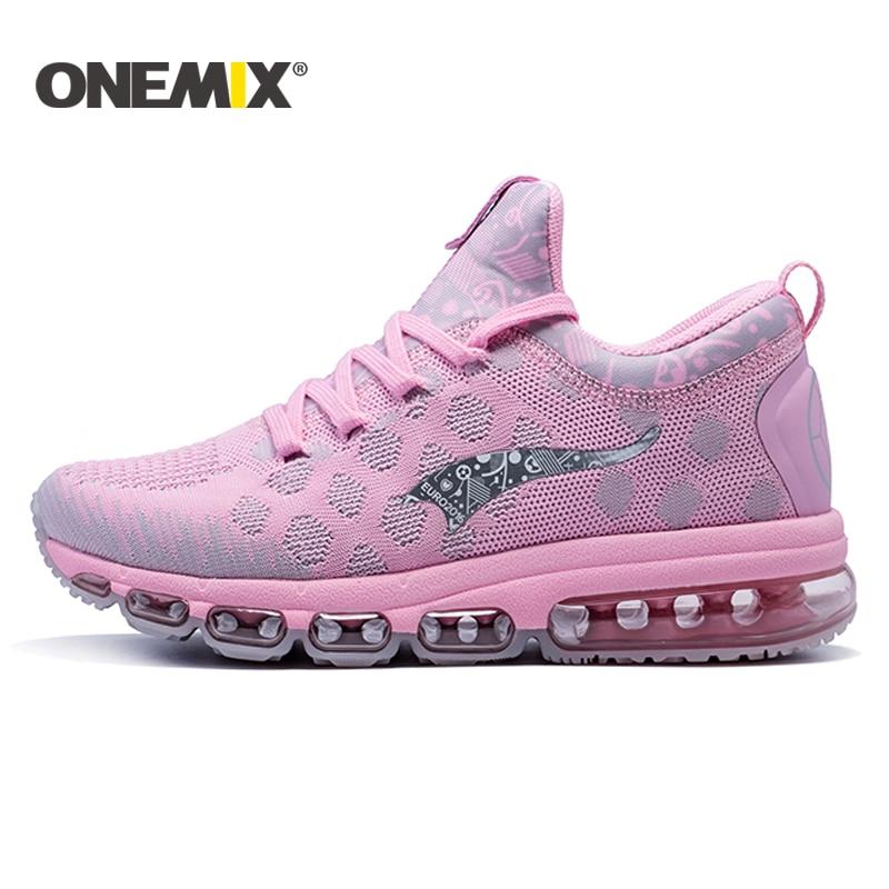 c5769fd29a3c7 ONEMIX 2017 women Outdoor Running Shoes Cushion Sneaker Original Zapatos  Elastic Women Jogging Shoes Trainers Sport
