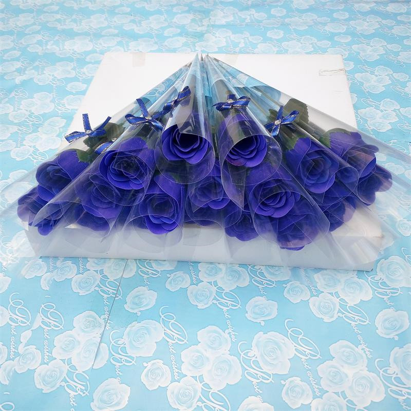 Сладкий 5 цветов Prop мыло роза ресторан цветочный декор моделирование Орнамент Искусственный Цветок День святого Валентина подарки Свадебный декор