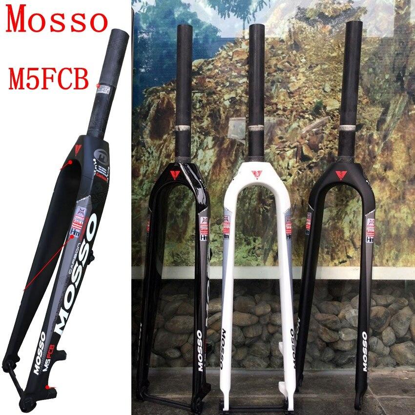 Carbon Fork Mosso M5FCB Bike Fork 26 27.5 29er Mosso Bicycle Carbon fork suspension front forks T700 hot selling 2018 mosso fork m5 m3 md2 mtb bike fork 26 27 5 29er road bicycle fork suspension front forks hot selling 2018