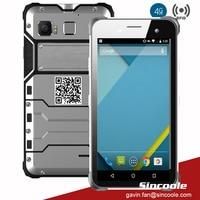 4G LTE 8 Core 4GB 64GB Fingerprint Lock Android 6.0 Gyro Distance Sensor IP68 Industrial smart terminal