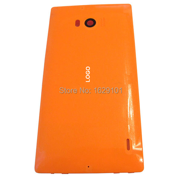 Back Rear Cover Battery Housing Door Cover For Nokia Lumia 930 Replacement Part ,Orange Color Free Shipping