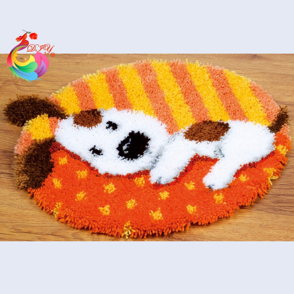 Rug Dogs Embroidery Designs: Aliexpress.com : Buy Carpet Embroidery Cartoon Dog Sets