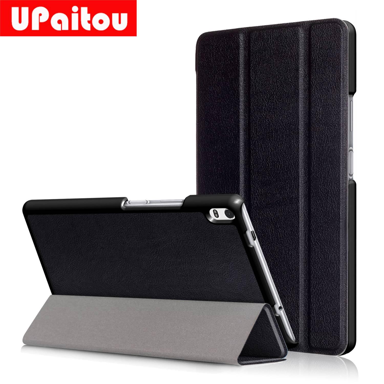 UPaitou Flip Case for Lenovo Tab4 8 Plus TB-8704F TB-8704N TB-8704X Cover Tablet Case for Lenovo Tab 4 8 Plus 8.0 Leather Coque magnet flip stand case for lenovo tab4 8 plus smart pu leather case for lenovo tab 4 8 plus tb 8704n tb 8704f tablet case film