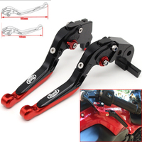 Motorcycle CNC Adjustable Foldable brake Clutch Levers for Buell M2 Cyclone 1997 1998 1999 2000 2001 2002 with Logo